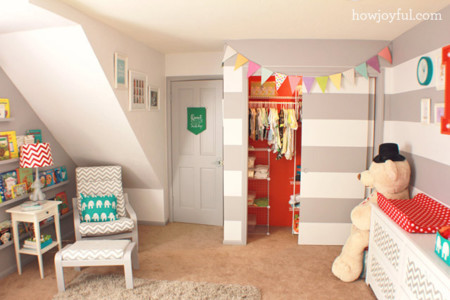 Ni de ni o ni de ni a 21 habitaciones infantiles unisex for Chambre gender