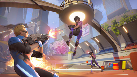 Quantum League, el shooter de los bucles temporales, saldrá como Acceso Anticipado para Steam a finales de mayo