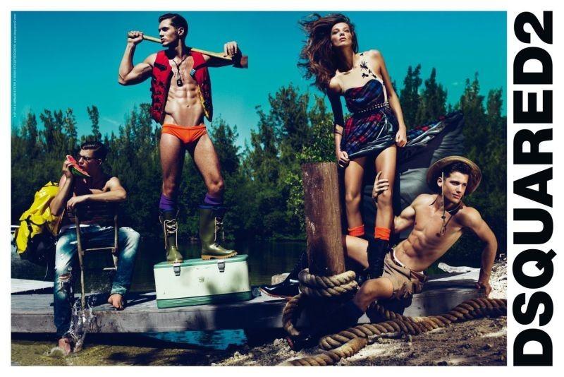 Dsquared2 campaña Primavera-Verano 2010: más músculos para la colección