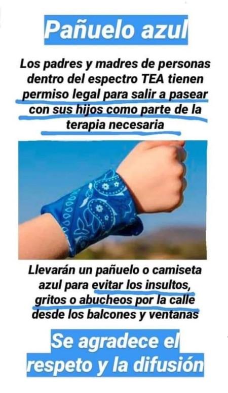 Panuelo Azul