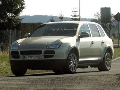 Foto espía del Porsche Panamera