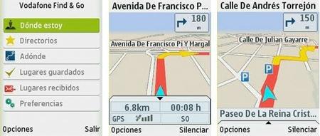 Vodafone Find & Go, servicio GPS para móviles