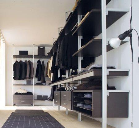 Cómo organizar adecuadamente un vestidor