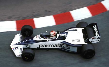 Nelson Piquet Mónaco 1983 Brabham-BMW