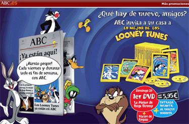 Colección de DVDs de Looney Tunes