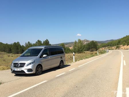 Mercedes Marco Polo carretera