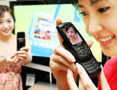 Samsung SCH-W200, con soporte de HSDPA