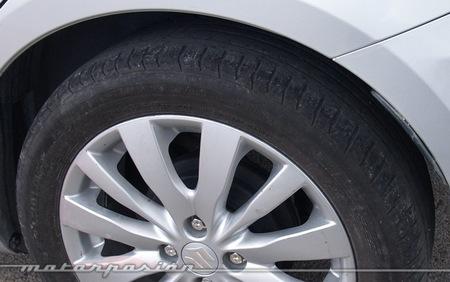 Michelin, Circuito del Jarama, Neumáticos nuevos y neumáticos desgastados a prueba 12