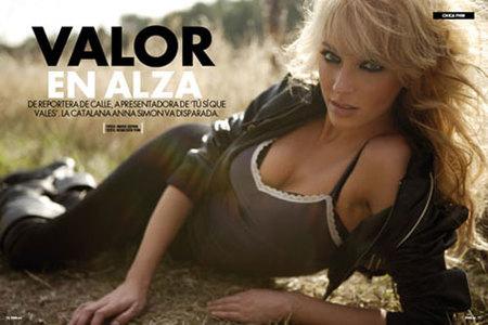 Anna Simon quita el hipo en la revista FHM