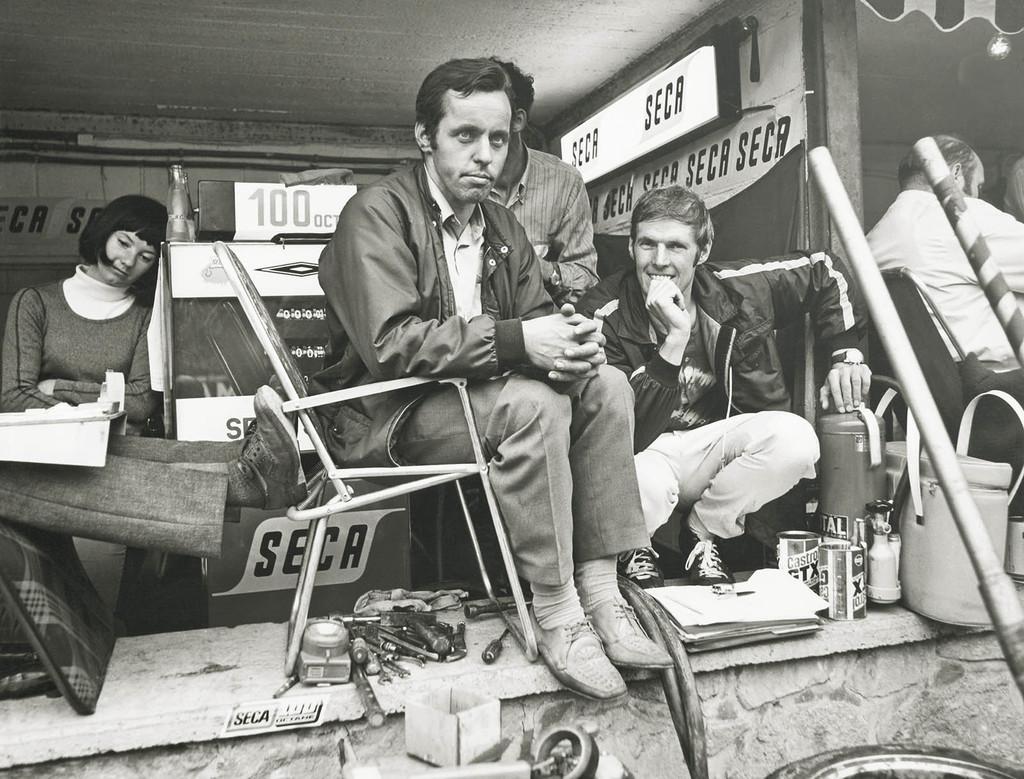 Hans-Werner Aufrecht en las 24 horas de Spa 1971