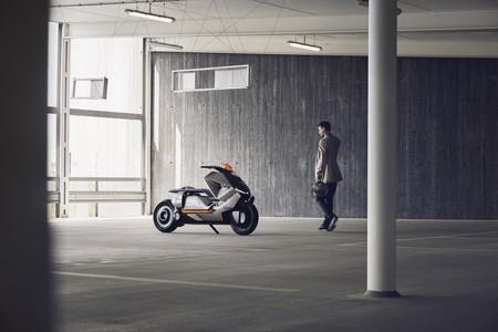 Eléctrico, configurable e inteligente. Así es el BMW Motorrad Concept Link, el scooter del futuro