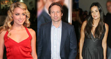 David Duchovny, Demi Moore y Amber Heard serán 'The Joneses'