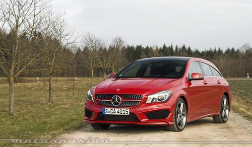 Mercedes-Benz CLA Shooting Brake, toma de contacto