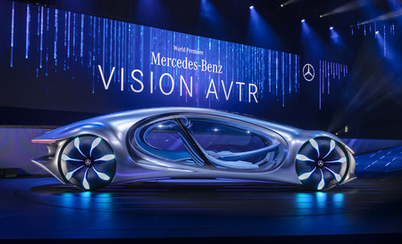 Mercedes Benz Vision Avtr 7