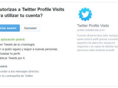 No, Twitter no ha sacado una nueva herramienta para saber quién visita tu perfil