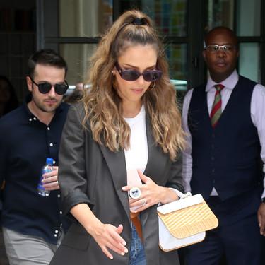 Los dos looks de Jessica Alba que prueban que su estilo es impecable