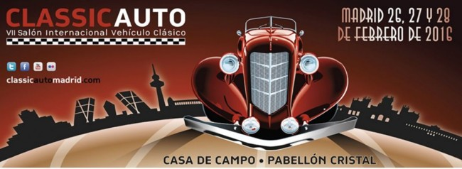 Planes de fin de semana: Classic Auto Madrid 2016