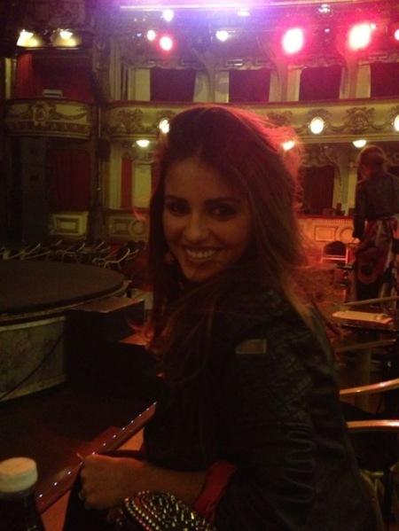 La última en sucumbir al mundo blogger es Mónica Cruz...