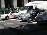 Plan avanza moto en Madrid