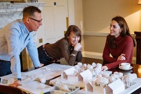 Kate Middleton está diseñando un jardín para animar a la gente a pasar más tiempo en la naturaleza y mostrar sus beneficios