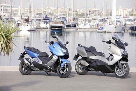 Motorpasión a dos ruedas: BMW C 650 GT y C 600 Sport y Yamaha T-Max 2012