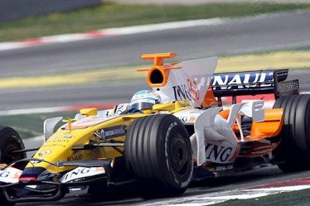 Fernando Alonso, el más rápido en Montmeló