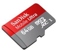 SanDisk presenta su primera tarjeta MicroSD de 64GB, esperando teléfonos que la soporten