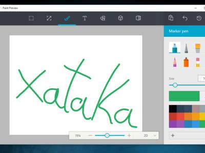 Probamos el nuevo Paint de Microsoft: rediseñando un clásico sin que pierda personalidad