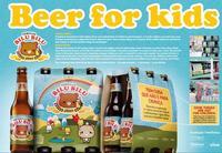 Cerveza infantil para denunciar la explotación de los más pequeños