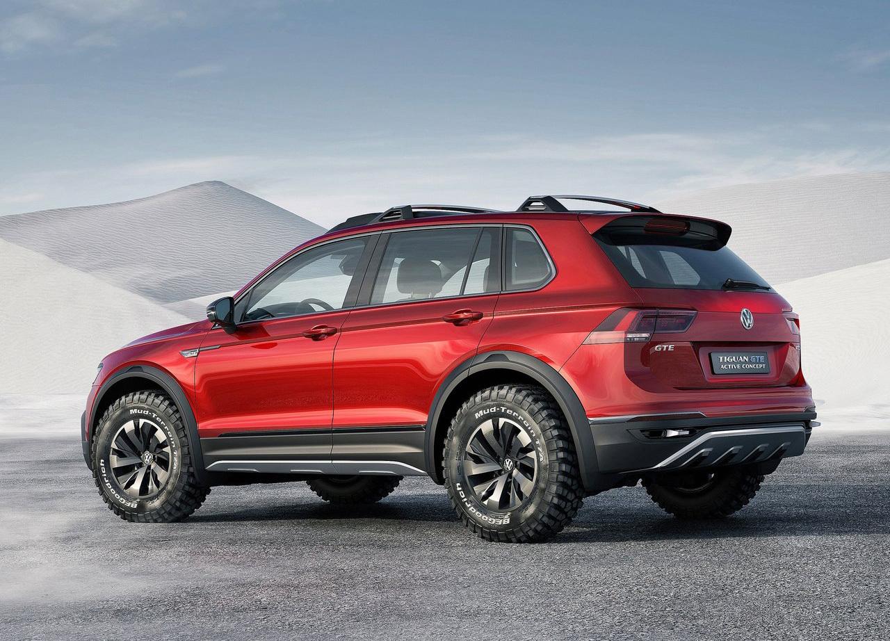 Foto de Volkswagen Tiguan GTE Active Concept (2/17)