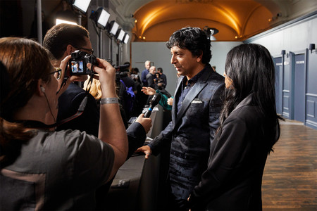 Apple Premieres Servant Coming To Apple Tv Plus November 28 M Night Shyamalan Talking With Press 111919