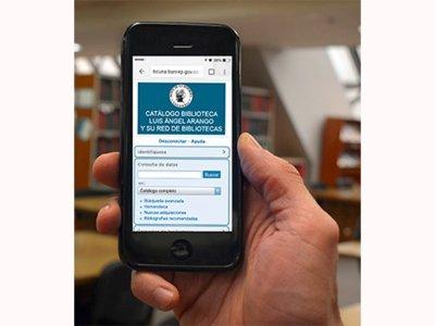 Catálogo de la biblioteca Luis Ángel Arango está disponible en celular