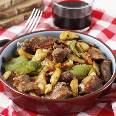 Frita de cerdo, la receta ibicenca típica de una comida de matanzas pero que está deliciosa en cualquier otra ocasión