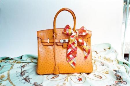Hermes Ostrich Birkin Bag