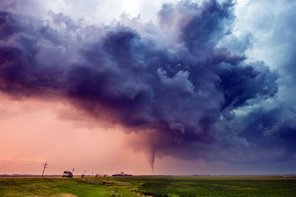 Las espectaculares imágenes del fotógrafo Dennis Oswald, un auténtico cazador de tormentas