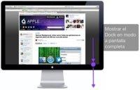 Cómo mostrar el Dock cuando estemos en una aplicación a pantalla completa