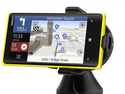 Soporte para coches con cargador inalámbrico para Nokia Lumia 920