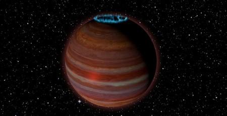 Se descubre un planeta con un campo magnético extraordinariamente poderoso