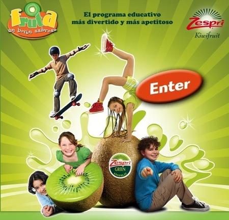 """La campaña escolar de Zespri para promover la alimentación saludable se llama """"Fruta, un botín sabroso"""""""