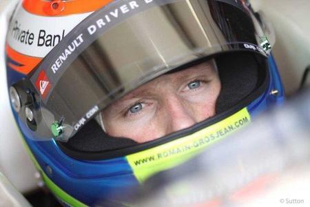 Romain Grosjean saldrá en la primera sesión libre del Gran Premio de Singapur