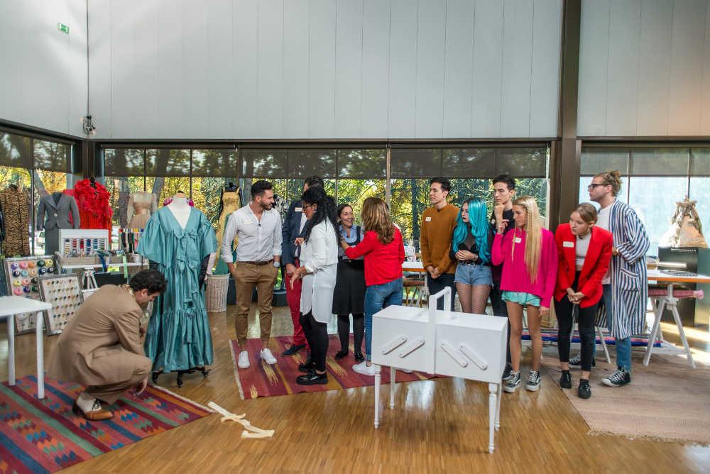 Maestros de la costura En El Museo Del Traje