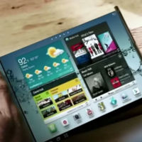 Más pistas de las pantallas flexibles de Samsung: enrollando los dispositivos