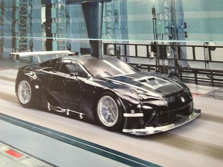 ¿Habrá un verdadero Lexus LFA de competición?