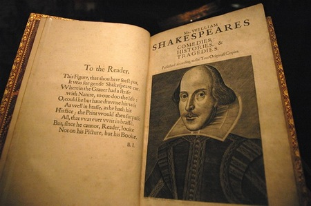 Empieza una recaudación de fondos para digitalizar un 'First Folio' de William Shakespeare