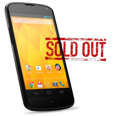 LG afirma que no ha habido problemas de suministro con Nexus 4, niega que venga un nuevo Nexus