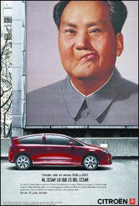 Citroën se arriesga con su publicidad en China
