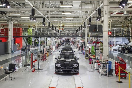 Tesla Fabrica Fremont