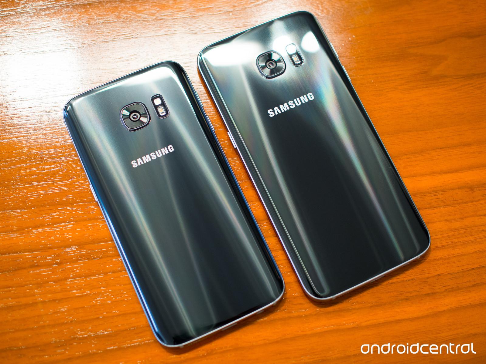 Samsung Galaxy S7, negro
