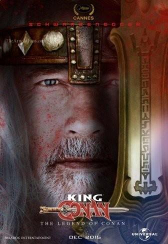 'King Conan', cartel del regreso de Schwarzenegger a la saga