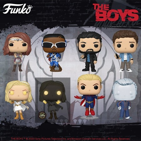 Figuras Funko POP de The Boys en preventa en Amazon México